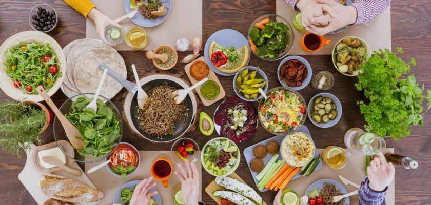 Photo de cuisine végétarienne