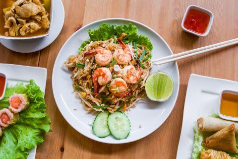 Photo à l'assiette thai lille