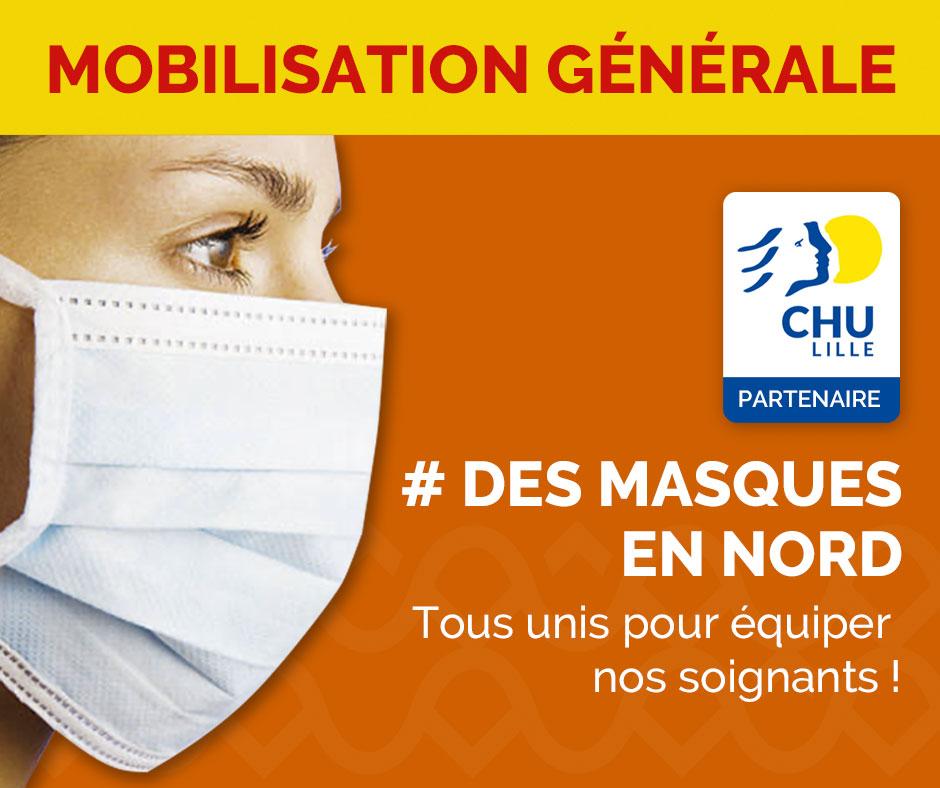 Des masques en Nord Lille