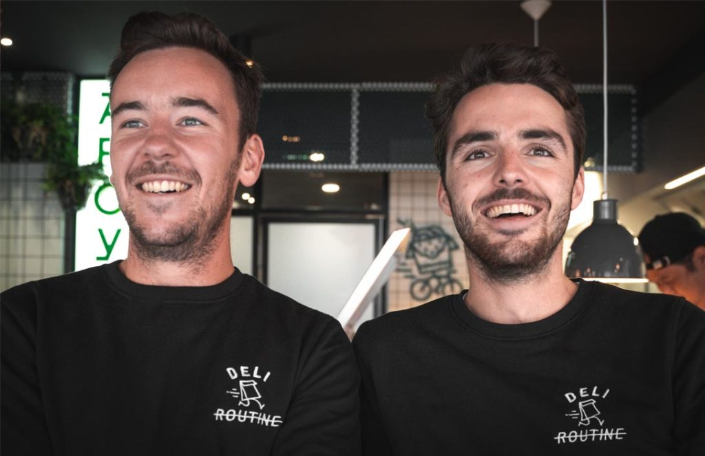 Deli routine à Lille Benjamin et Maxime