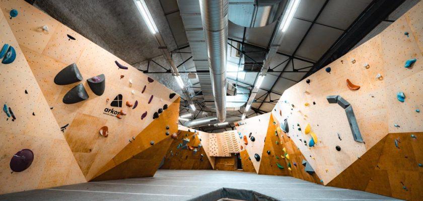 Arkose salle d'escalade à Lille centre rue des postes