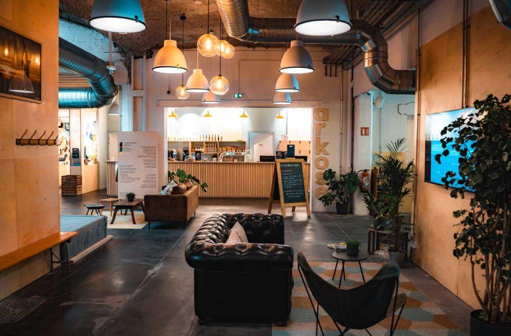 Arkose salle d'escalade à Lille centre rue des postes restaurant