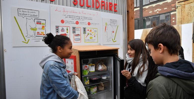 frigos solidaires à Lille