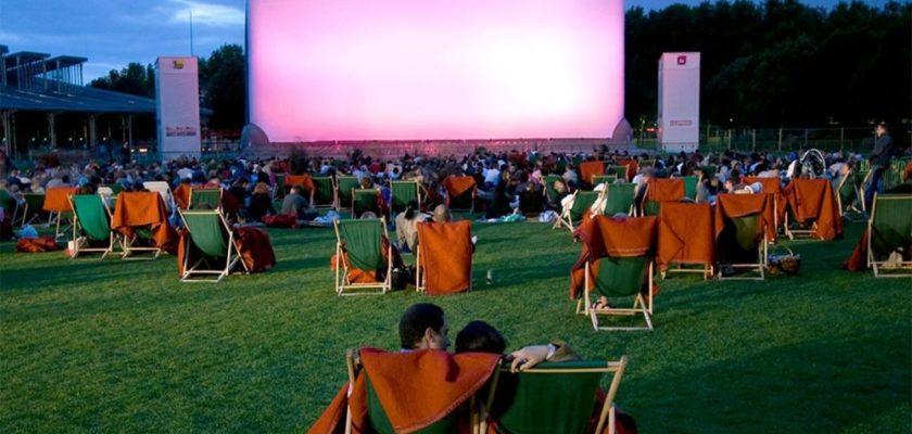 Cinéma en plein air lille été 2021
