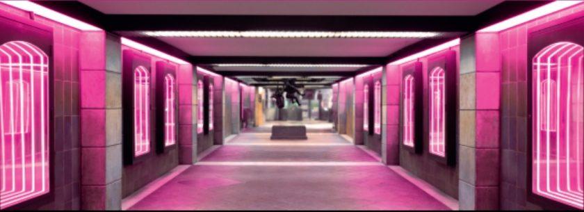Lumière sur la station république beaux-arts lille