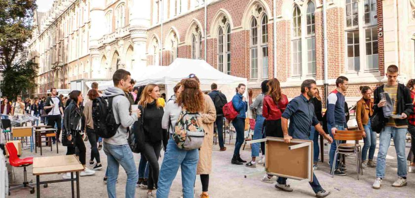 grande vente de rentrée Lille campus market